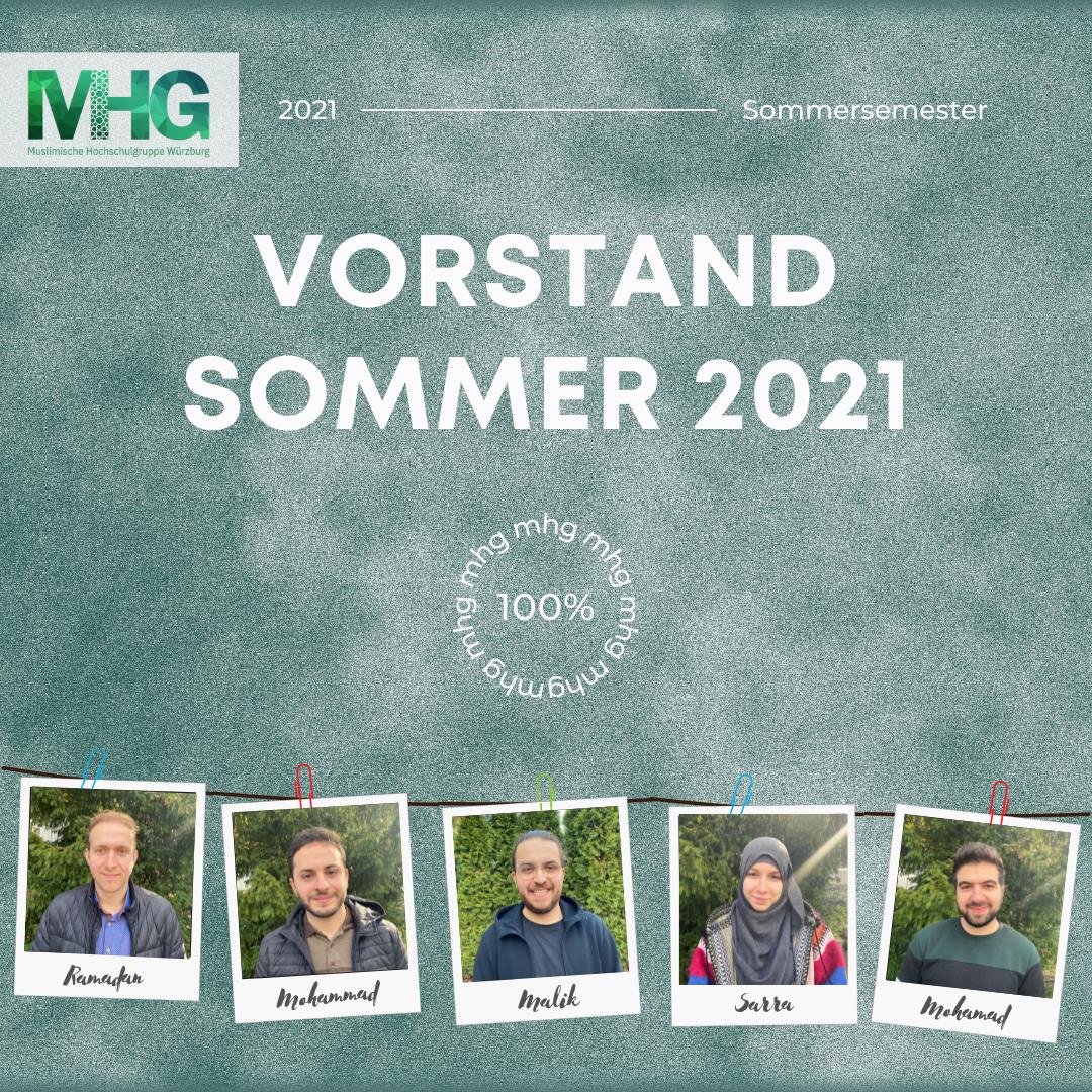Vorstand Sommer 2021